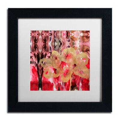 'Daisy Abstract' Framed Painting Print ALI5696-B1111MF