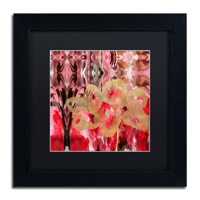 'Daisy Abstract' Framed Painting Print ALI5696-B1111BMF