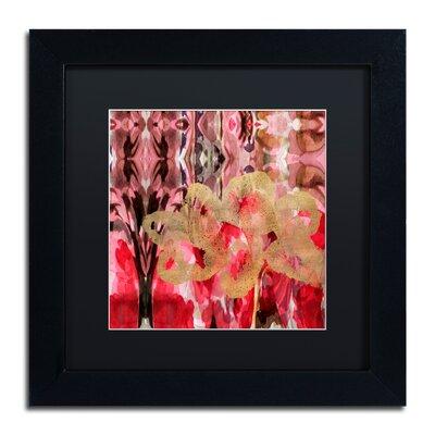 'Daisy Abstract' Framed Painting Print ALI5696-B1111BMF