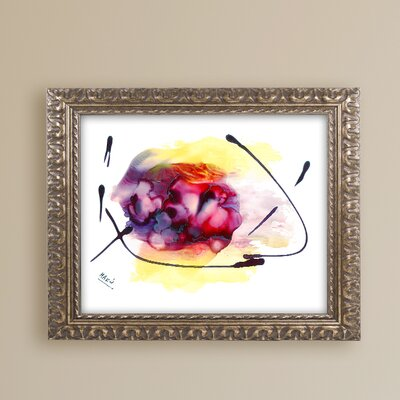 'Abstract 06' Framed Painting Print MA0843-G1620F