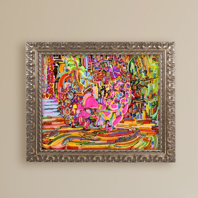 "'Nude Woman as a Bowl of Fruit' Framed Graphic Art Print Size: 16"" H x 20"" W x 0.5"" D ALI5565-G1620F"