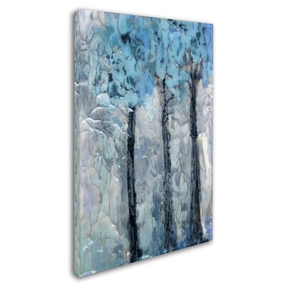 'Winter Trees' Print on Wrapped Canvas ALI8271-C1219GG