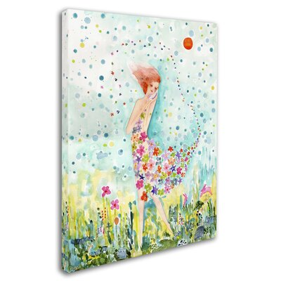 """'Release' Painting Print on Wrapped Canvas Size: 19"""" H x 14"""" W x 2"""" D ALI8226-C1419GG"""