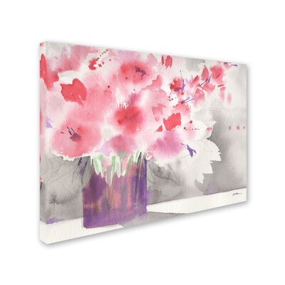 'Winter Blossoms' Print on Wrapped Canvas SG5793-C1419GG