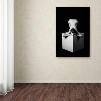 'Heart of a Cube' Graphic Art Print on Wrapped Canvas 1X00959-C1219GG