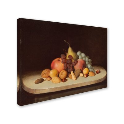 'Still Life With Fruit And Nuts' Print on Wrapped Canvas AA00772-C1419GG