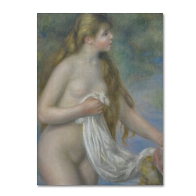 'Bather with Long Hair c. 1895' Print on Wrapped Canvas AA01293-C1419GG
