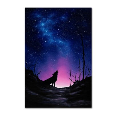"'Starry Nights' Graphic Art Print on Wrapped Canvas Size: 47"" H x 30"" W ALI16414-C3047GG"