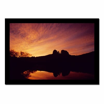 'Sedona Sunrise' by Kurt Shaffer Photographic Print on Canvas KS1013-C2840GG