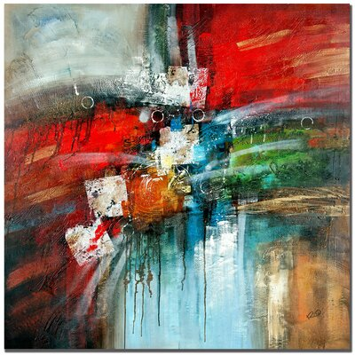 'Cube Abstract IV' Painting Print on Canvas 80B980D4955946B99EB3DA6D480F11CA
