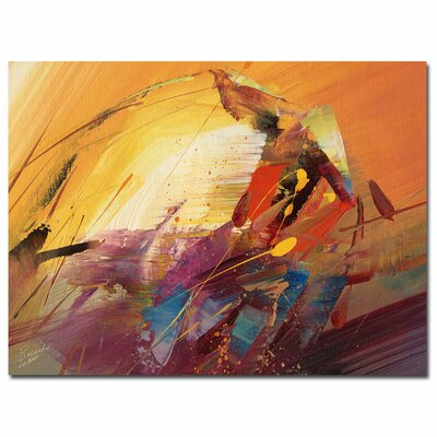 "A New Day"" by Ricardo Tapia Painting Print on Wrapped Canvas MA0145-C2432GG"