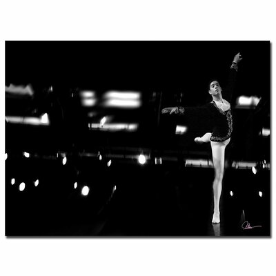 'Dancer V' by Martha Guerra Photographic Print on Canvas Size: 35'' H x 47'' W x 2'' D