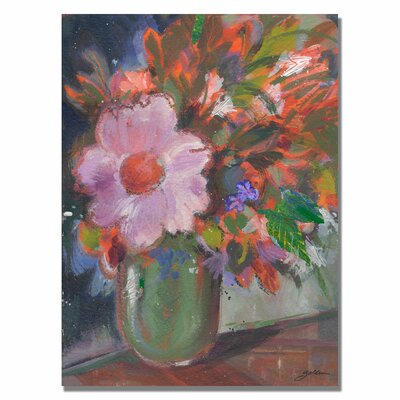 'Starry Night Bouquet' by Sheila Golden Painting Print on Canvas SG5641-C3547GG