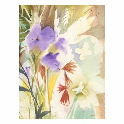 'Hymn to Nature' by Sheila Golden Painting Print on Canvas Size: 32