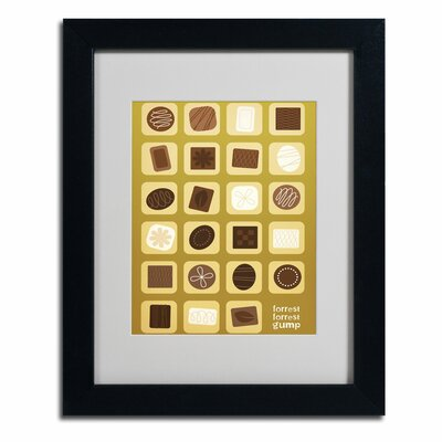 "Forrest Gump"" by Megan Romo Framed Graphic Art MR0011-B1114MF"