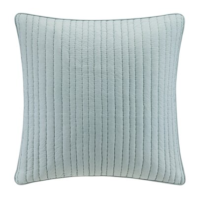 Dunster Quilted Euro Sham Color: Seafoam