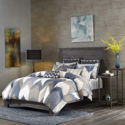 Alpine 3 Piece Comforter Set Size: Full/Queen, Color: Blue