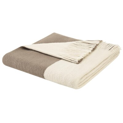 Stockholm Throw Blanket Color: Taupe