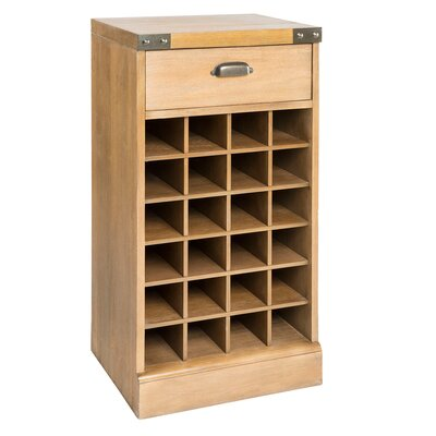 Carvell 24 Bottle Floor Wine Rack