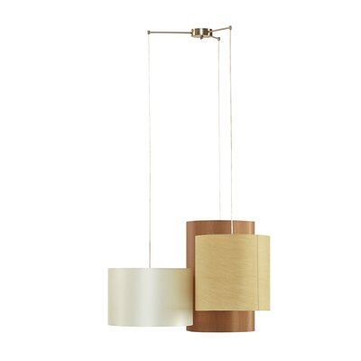 Gentry 3-Light Shaded Chandelier