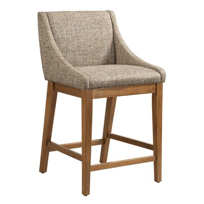 West Drive 25 Bar Stool Color: Gray