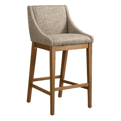 West Drive 31 Bar Stool Color: Gray