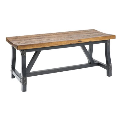 Lancaster Dining Bench Size: 18H x 17W x 44D