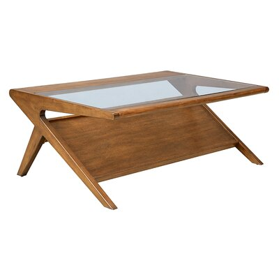 Rocket Coffee Table with Magazine Rack