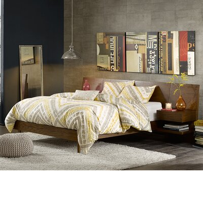 Clark Storage Platform Bed Size: King