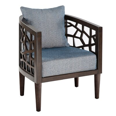 Crackle Barrel Chair