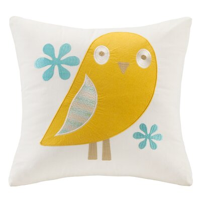 Agatha Embroidered Throw Pillow