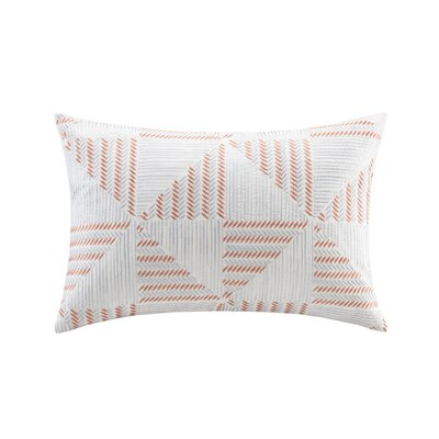 Frankie Embroidered Lumbar Pillow