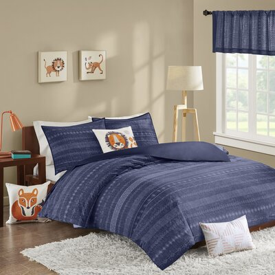 Oliver Cotton 3 Piece Coverlet Set Size: Twin