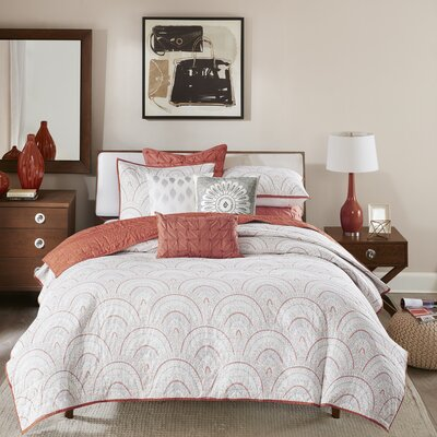 Muriel 3 Piece Coverlet Set Size: Full / Queen
