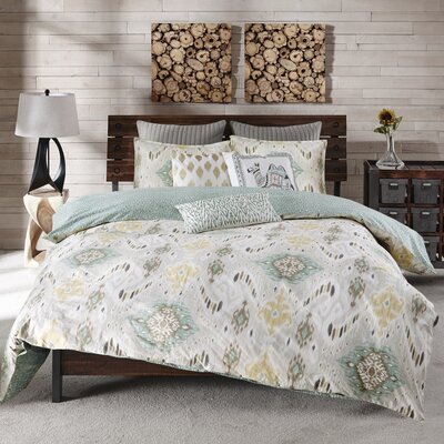 Nia 3 Piece Comforter Set Size: Full / Queen, Color: Multi-Colored
