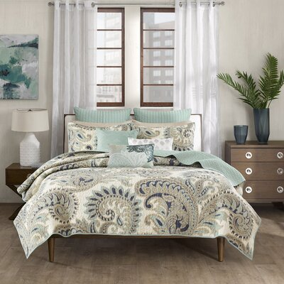 Mira 3 Piece Coverlet Set Size: King / California King
