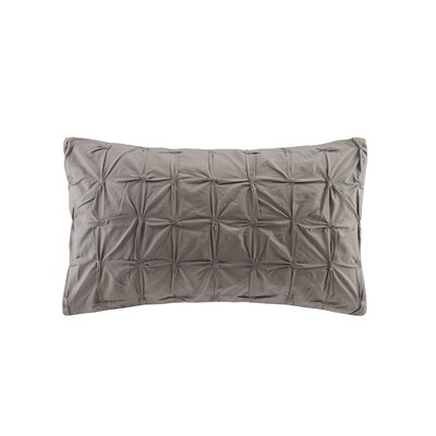 Ellington Decorative Throw Pillow Color: Gray