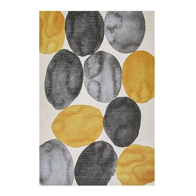 'Amber Puzzle' Painting Print on Wrapped Canvas 65CBBADA8ABF40FFB77AF673C7D7FCCD