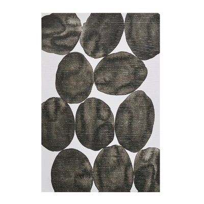 'Painted Puzzle Gray' Painting Print on Wrapped Canvas 72A903FAE8184E79A67721EA5A73B9C2