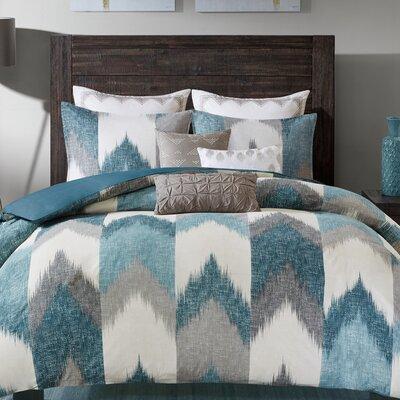 Alpine 3 Piece Comforter Set Size: Full/Queen, Color: Aqua