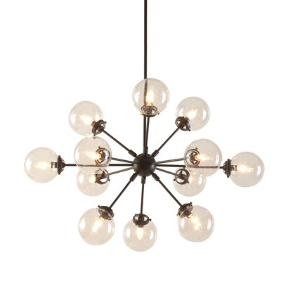 Benites 12-Light Sputnik Chandelier Finish: Bronze
