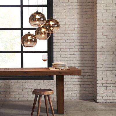 Doyal 4-Light Globe Pendant Size: 40.5 H x 26 W x 26 D