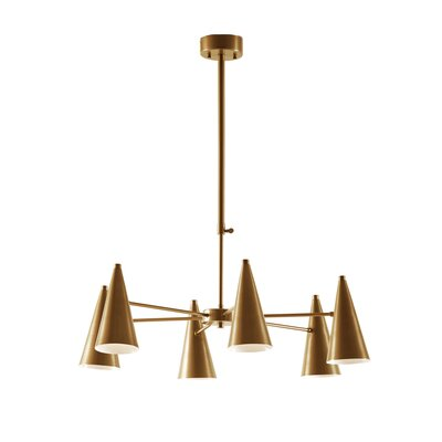 Benson 6-Light Sputnik Chandelier