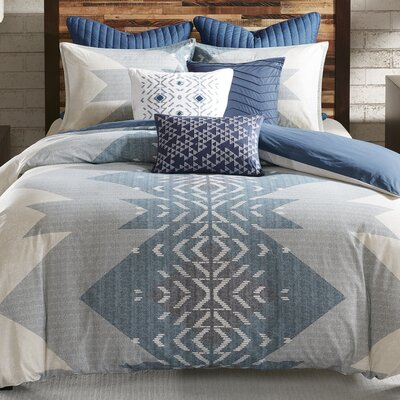 Nova 3 Piece Duvet Cover Set Size: King/California King