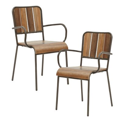 Desmarais Solid Wood Dining Chair