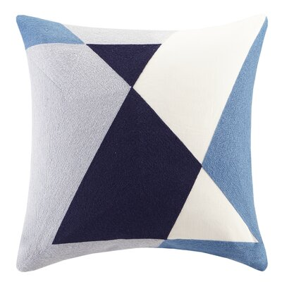 Aero Embroidered Abstract Decorative Throw Pillow