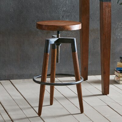 Frazier Adjustable Height Bar Stool
