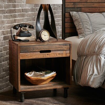 Desmarais 1 Drawer Nightstand