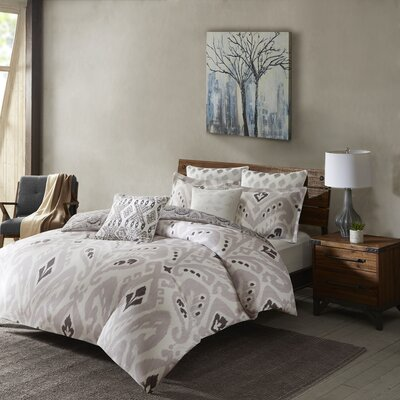 Sasha 3 Piece Comforter set Size: King/California King