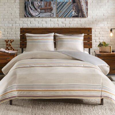 Rowan Reversible Duvet Set Size: Full/Queen